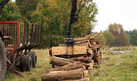 Dépannage de tracteur forestier àOyonnax